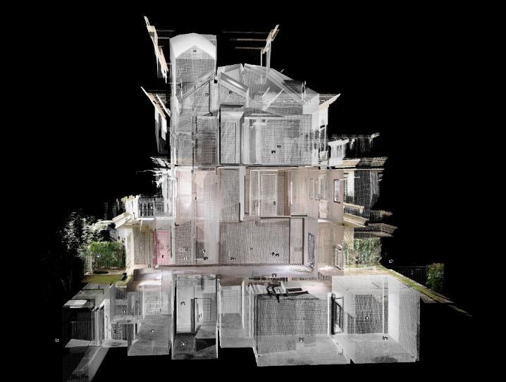 别墅3D扫描