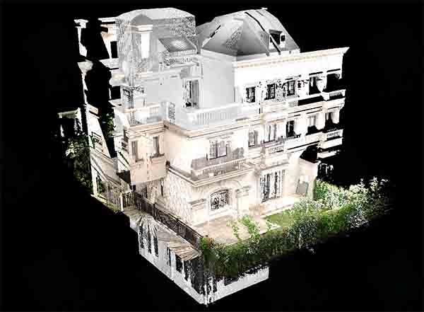 三维扫描别墅