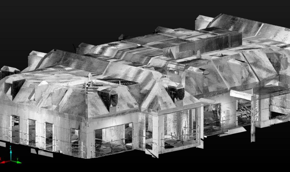 建筑3D扫描