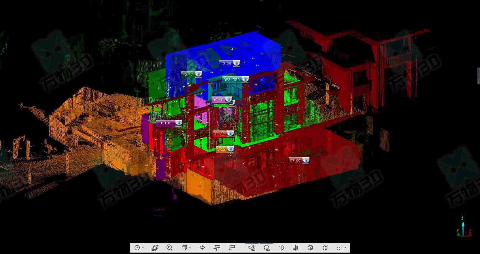 BIM建筑扫描